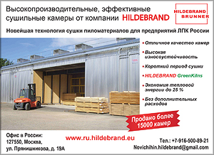 Hildebrand. Сушильные камеры для древесины